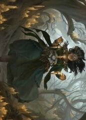 Candlegrove Witch (15/81) Art Card
