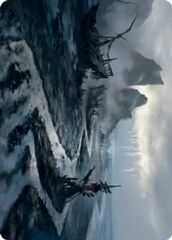 Shipwreck Marsh Art Card
