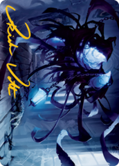 Spectral Adversary Art Card - Gold-Stamped Signature