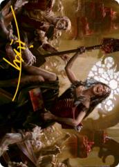 Gisa, Glorious Resurrector Art Card - Gold-Stamped Signature