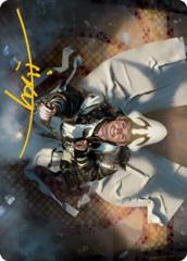 Jerren, Corrupted Bishop Art Card - Gold-Stamped Signature