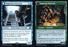 Suspicious Stowaway // Seafaring Werewolf - MID Prerelease - Foil