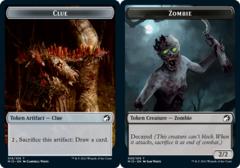 Clue Token // Zombie Token (005/019)