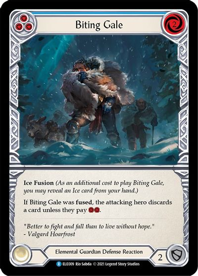 Biting Gale (Blue) - 1st Edition