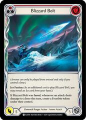 Blizzard Bolt (Red) - 1st Edition