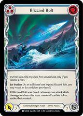 Blizzard Bolt (Blue) - 1st Edition