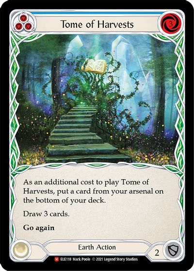 Tome of Harvests - 1st Edition