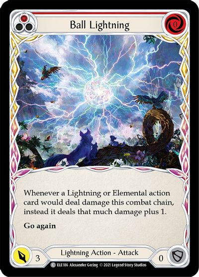 Ball Lightning (Red) - 1st Edition