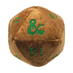 Ultra Pro - Dungeons & Dragons Feywild Copper and Green D20 Jumbo Plush