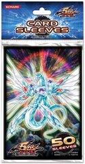 5D's Yugioh Trading Card Game Konami Majestic Star Dragon 50 ct Sleeves