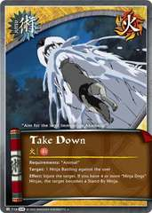 Take Down - J-716 - Uncommon - 1st Edition