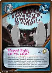 Puppet Fight: 10 vs. 100! - M-694 - Rare - 1st Edition