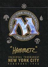 1996 Shawn HAMMER Regnier World Champ Deck