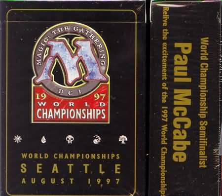 1997 Paul McCabe World Champ Deck