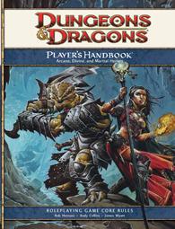 4th Edition Player's Handbook
