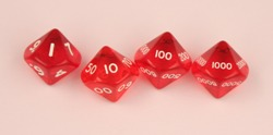 D10,000 translucent red set