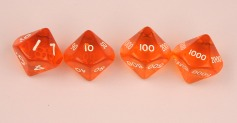 D10,000 translucent orange set