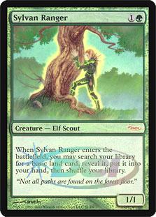 Sylvan Ranger (DCI) - Foil - WPN Promo