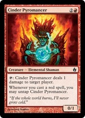 Cinder Pyromancer - Foil on Channel Fireball