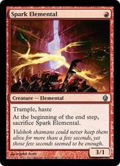 Spark Elemental - Foil on Channel Fireball
