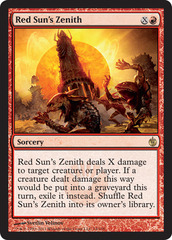 Red Suns Zenith