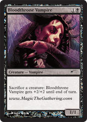 Bloodthrone Vampire (2011 Convention Promo)