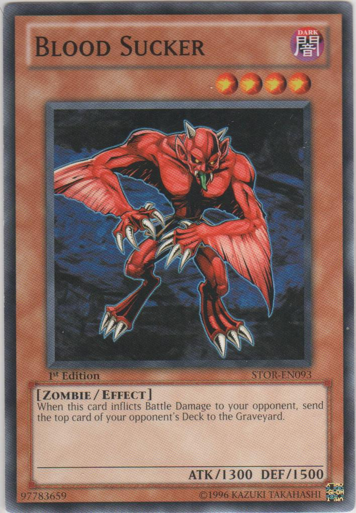 Blood Sucker - STOR-EN093 - Common - 1st Edition