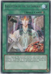 Asceticism of the Six Samurai - STOR-EN050 - Rare - 1st Edition on Channel Fireball