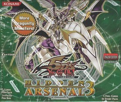 Yu-Gi-Oh Hidden Arsenal 3 1st Edition Booster Box