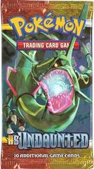 Pokemon HS - Undaunted Booster Pack