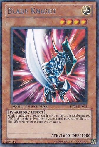 Blade Knight - DT04-EN003 - Rare Parallel Rare - Duel Terminal