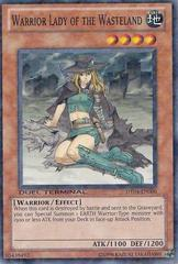 Warrior Lady of the Wasteland - DT04-EN006 - Parallel Rare - Duel Terminal