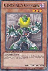 Genex Ally Changer - DT04-EN013 - Duel Terminal Normal Parallel Rare - 1st Edition on Channel Fireball