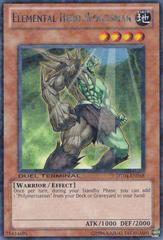 Elemental Hero Woodsman - DT04-EN058 - Duel Terminal Rare Parallel Rare - 1st Edition
