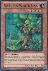 Naturia White Oak - DT04-EN081 - Duel Terminal Super Parallel Rare - 1st Edition on Channel Fireball