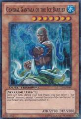 General Gantala of the Ice Barrier - DT04-EN084 - Super Parallel Rare - Duel Terminal