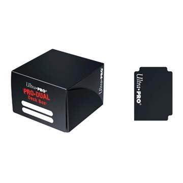 Ultra Pro Standard Dual Deck Box - Black