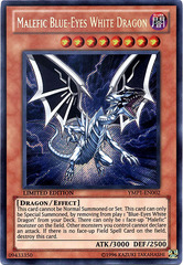 Malefic Blue-Eyes White Dragon - YMP1-EN002 - Secret Rare - Limited Edition