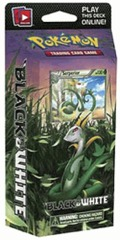 Black & White - Green Tornado Theme Deck