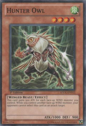 Hunter Owl - SDDL-EN013 - Common - 1st Edition