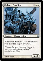 Alaborn Cavalier on Channel Fireball