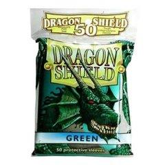 Dragon Shield Green Protective Mini Card Sleeves (50 ct)