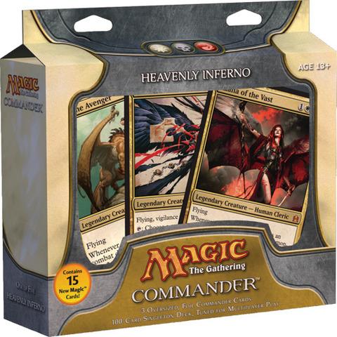 Commander 2011: Heavenly Inferno