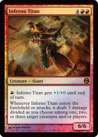 Inferno Titan - Duels of the Planewalkers 2012 PS3 Promo