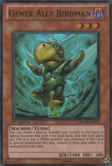 Genex Ally Birdman - HA04-EN037 - Super Rare - 1st Edition on Channel Fireball