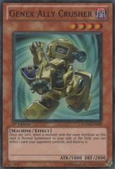 Genex Ally Crusher - HA04-EN039 - Super Rare - 1st Edition on Channel Fireball