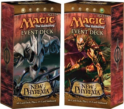New Phyrexia Event Deck - Set of Two