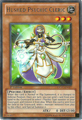 Hushed Psychic Cleric - EXVC-EN027 - Rare - 1st Edition