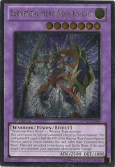 Elemental Hero Neos Knight - Ultimate - EXVC-EN093 - Ultimate Rare - 1st