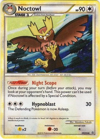 Noctowl (HGSS Promo 6) - HGSS06 - Promotional